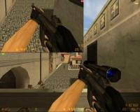 default g3sg1 reorigined with and without scope